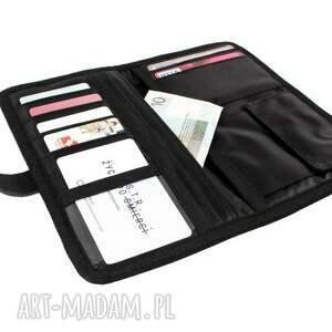 gustowne portfele czarny portfel mana #5