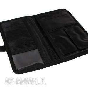 czarny portfele portfel mana #5
