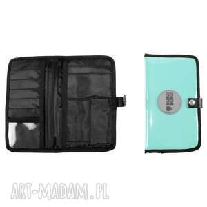 ręcznie zrobione portfele seledyn portfel mana #9