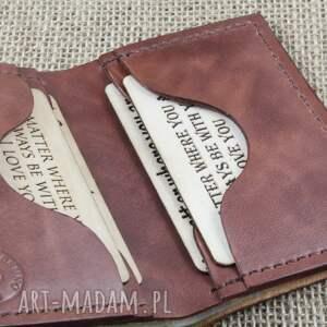 portfele grawer portfel na karty z miejscem