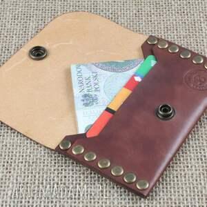 Bruno Leatherworks portfele: Portfel Nitowany - etui
