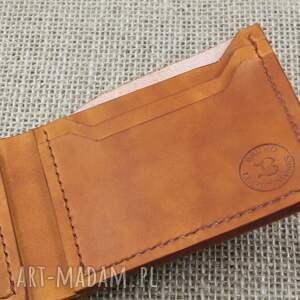 brązowe portfele portfel skórzany klasyczny
