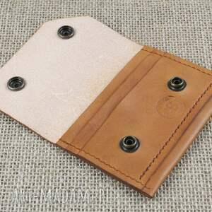 portfele portfel skórzany na karty