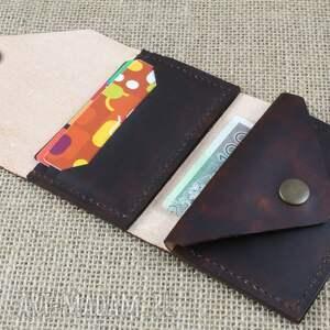 skóra portfele czarne portfel skórzany