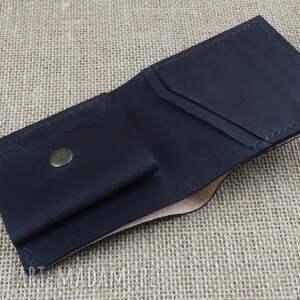 brązowe portfele portfelik portfel skórzany