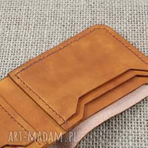 skóra portfele niebieskie portfel skórzany klasyczny