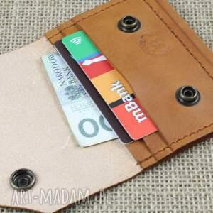 portfele skórzany portfel na karty