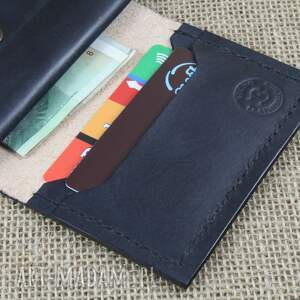 portfel portfele czerwone skórzany z kieszonką