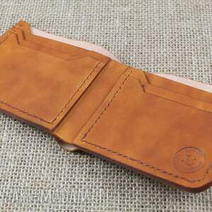 hand made portfele skóra portfel skórzany klasyczny