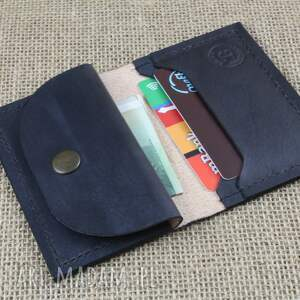 brązowe portfele skóra portfel skórzany z kieszonką