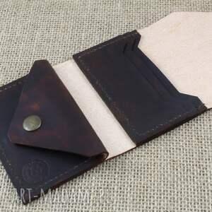 awangardowe portfele skóra portfel skórzany
