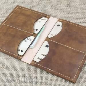portfel portfele czarne ze skóry z miejscem