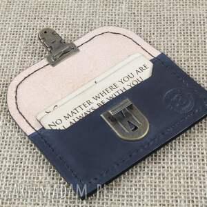 a45b92fff40f0 portfelik na karty zamykany na zatrzask - bruno leatherworks