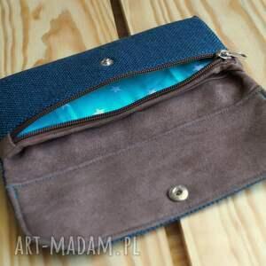 turkusowe portfele portfel portfelik