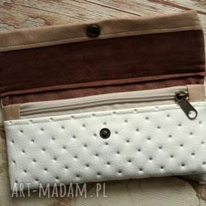 handmade portfele portfel portfelik z ekoskóry