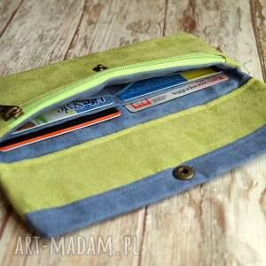 alcantara portfele portfelik z ekozamszu