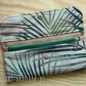 wyraziste portfele prezent portfelik z ekozamszu