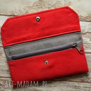 nietuzinkowe portfele portfel portfelik z ekozamszu