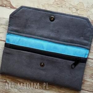 niesztampowe portfele portfel portfelik z ekozamszu