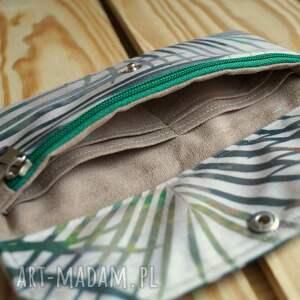 portfele: Portfelik z ekozamszu - prezent portmonetka