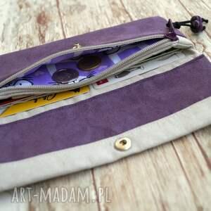nietuzinkowe portfele portmonetka portfelik z ekozamszu