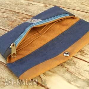 ręczne wykonanie portfele portmonetka portfelik z ekozamszu