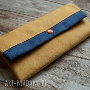 modne portfele prezent portfelik z ekozamszu