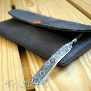 portmonetka portfele portfelik z ekozamszu