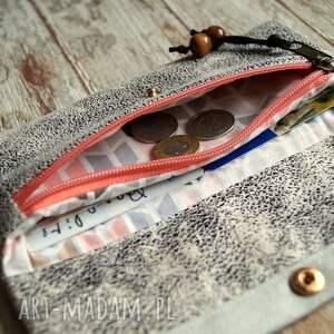 koraliki portfele portfelik z ekozmaszu