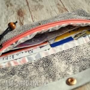 portfele portmonetka portfelik z ekozmaszu