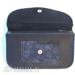 czarne portfele prezent portmonetka damska