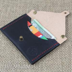 etui portfele czarne portmonetka, na karty, portfel