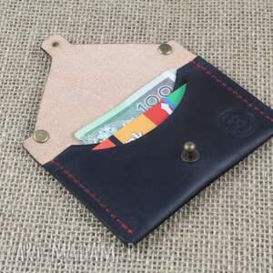 brązowe portfele portfel portmonetka, etui na karty