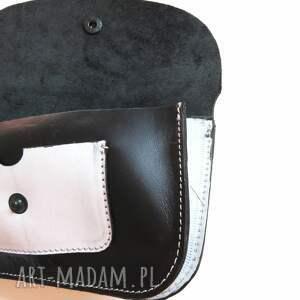 eleganckie portfele portmonetka skórzana