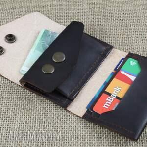 portfel portfele składany skórzany