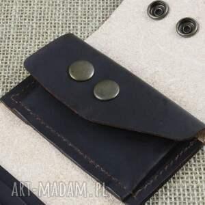 portfel składany skórzany