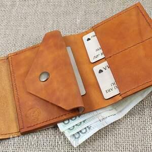 atrakcyjne portfel skórzany