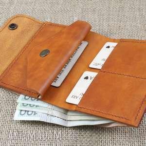 atrakcyjne portfele męski skórzany portfel