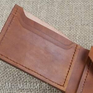portfele prezent skórzany portfel