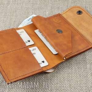 portfele męski skórzany portfel