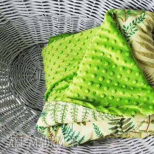 zielony pościele kołderka minky