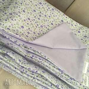 białe pościele kołdra pościel fioletowa