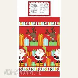 pomysł na prezent świąteczny pościel świąteczna - list