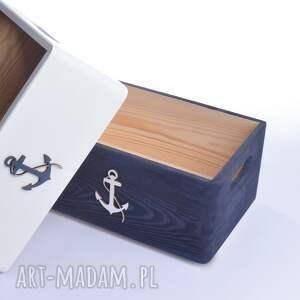 pudełka: do przechowywania Nautical Komplet - prezent przechowywanie