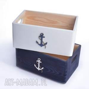 pudełka: do przechowywania Nautical Komplet - prezent pudełko