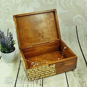 pudełka kot drewniane pudełko/szkatułka