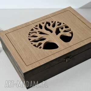 skrzynka pudełka drzewo - drewniana