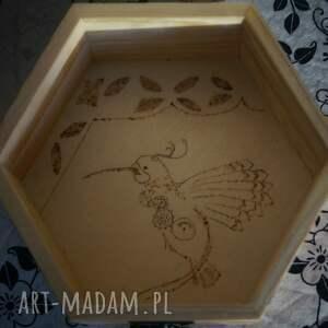 nietuzinkowe pudełka szkatułka kaczka dziwaczka - drewniane