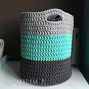 gustowne pudełka kosz produkt wykonany ręcznie, ze sznurka