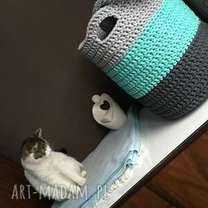 pudełka koszyk kosz ze sznurka bawełnianego 3